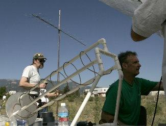 Antenna Range in operation
