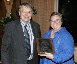 Emily Ward receives Wilson Award
