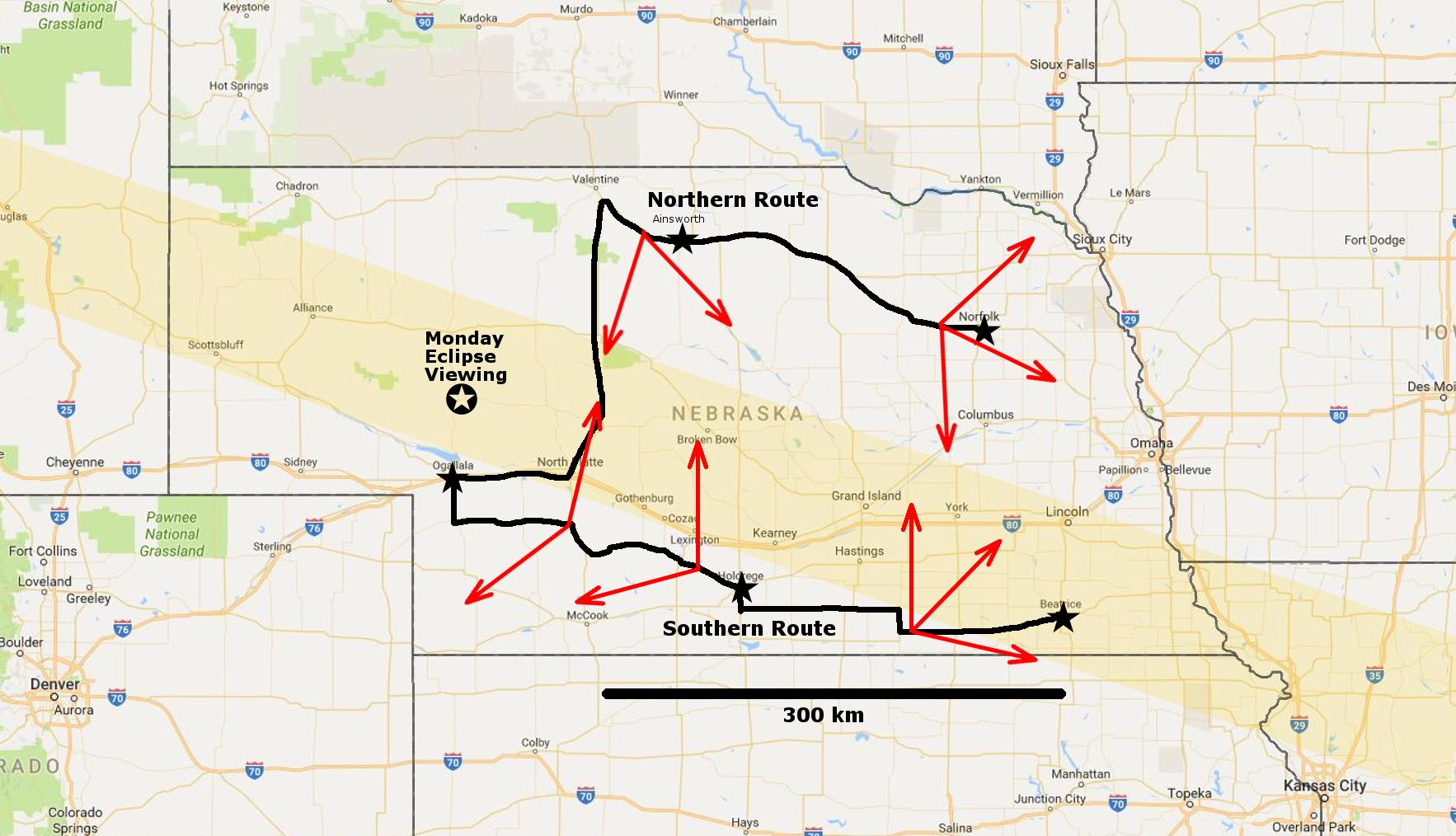Nebraska Rove Eclipse O Mania