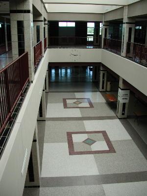 Atrium from 2nd floor