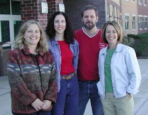 Liz Otis Henning, Sue Latimer, Bob Karstensen, Suzy Wisted Marsh